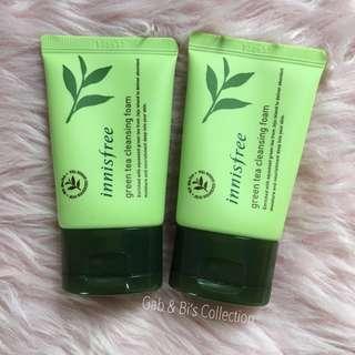 Sale! Innisfree green tea foam cleanser