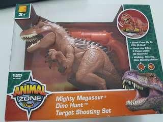 Toyrus Animal Zone Dinosaur - Mighty Megasaur Dino Hunt Target Shooting Set