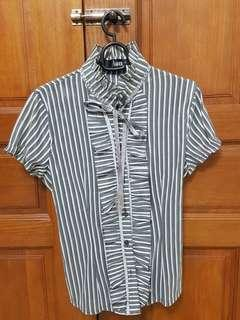 Stripes Office Wear (Grey) #APR75