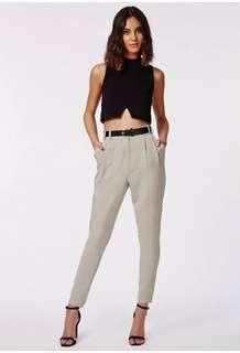 Uttara high waisted tailored trousers