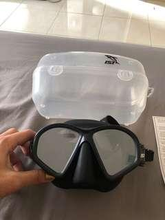 (NEW) IST Snorkeling Free Diving  Mask - IST Hunter Mask