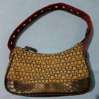 Tommy Hilfiger Small Brown Bag