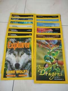 (All for $13) National Geographic Magazines