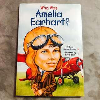 Who Was Amelia Earhart? by Kate Boehm Jerome