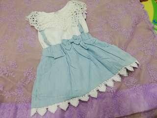 NEW Mini dress false 2pc dress