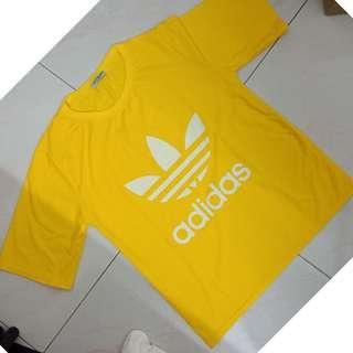 NEW! ZARA Basic with ADIDAS printed T Shirt