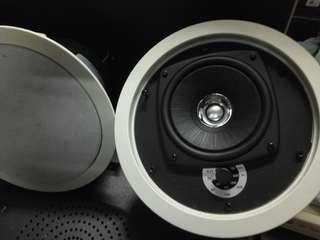 KEF Ci115QCT 80 W RMS 2-Way In-Ceiling Speakers - Pair (White)