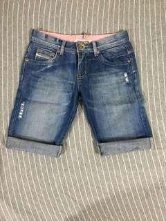 女裝短牛仔褲