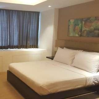 Fully Serviced One Shangri-la Place 1 Bedroom for Rentals, above Shangri-la Plaza Mall