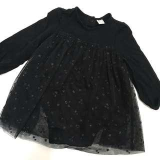 H&M party dress 9-12m baby girl