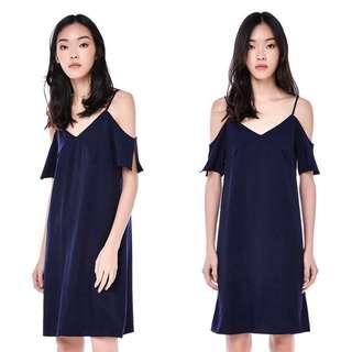 The Editor's Market TEM Morley Cold Shoulder Dress