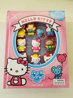 Hello kitty story books came with cute suction cups