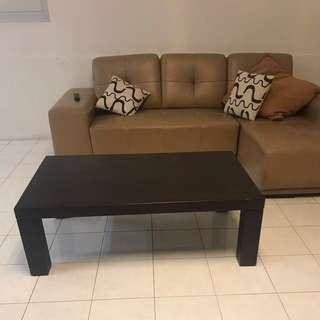 Cozy Sofa + Coffee Table (1 Set)