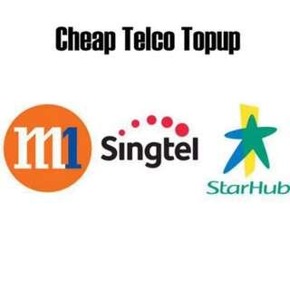 Cheap Telco Topup