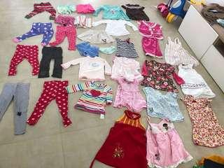 Bundle of girls clothes (2-3yrs)