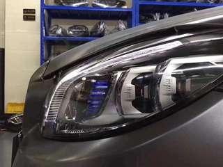 Genuine Mercedes Facelift 2019 W205 Multi Beam LED Headlights and Tail Light For C-Class 2014-2018.