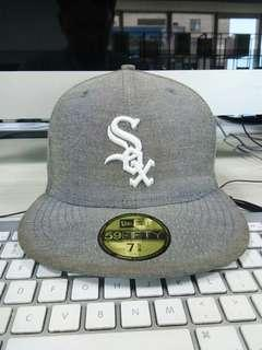 New Era Sox Fitted  size 7 5/8