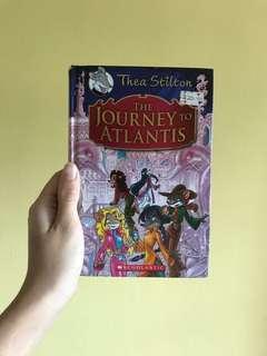 Thea Stilton and Geronimo Stilton hard cover books