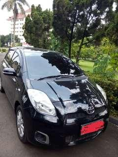 TOYOTA YARIS TYPE J MANUAL