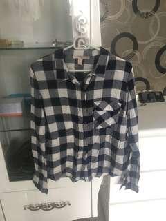 forever21 flanel shirt