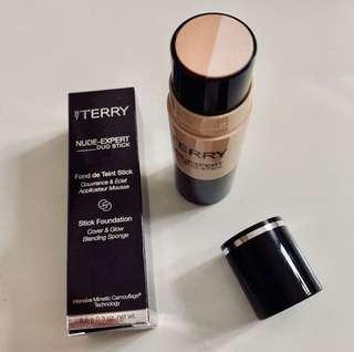 BNIB By Terry Nude-Expert Duo Stick Foundation + Highlighter