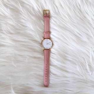 Kapten & Son genuine leather watch