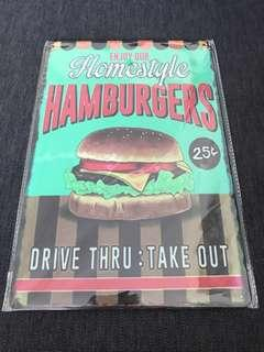 Sale 🌟 Homestyle Hamburgers drive thru take out