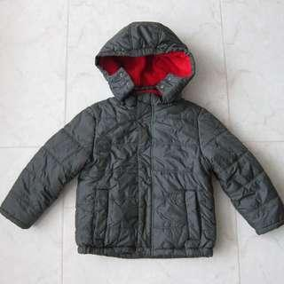 🚚 Calvin Klein Boys CK Kids Removable Hooded Down Puffer Jacket