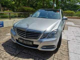 Mercedes-Benz E250 for rent/lease