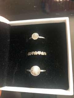 Pandora Ring stack size 54