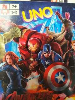 🚚 Limited Edition MARVEL AVENGERS Age of Ultron UNO playing cards