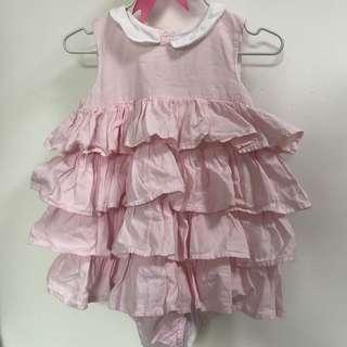 12m chateau de sable romper tier dress all in one