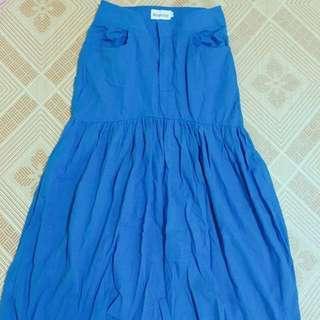 🚚 深藍魚尾裙