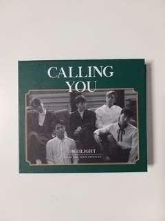 HIGHLIGHT 1st Mini Album Repackage Calling You