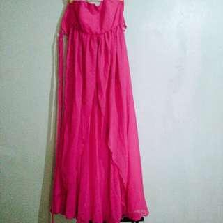 Gown - Fuchsia Color