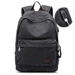 BUG Since 1963 Tas Ransel Backpack dengan USB Charger Port - P18001  TItanGadget 45323207cb