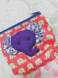 🚚 大象零錢包(泰國購入)