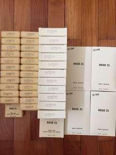 Le Labo Rose 31 bar soaps & bath grains