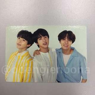 Official BTS Love Yourself Tour Mini PC: SugaJinJHope