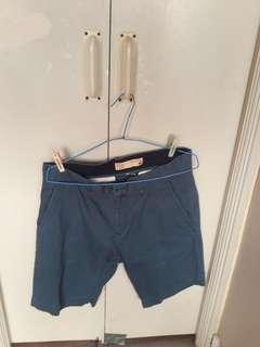 Light blue Bermuda shorts