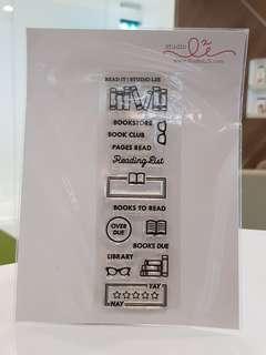 Studio L2E Books Clear Stamp
