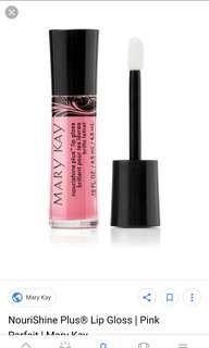 🚚 Mary Kay Nourishine Plus Lipgloss Lip Gloss - Pink Parfait