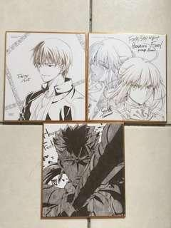 Official Fate/Stay night Heaven's Feel cards