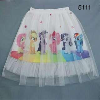 *FREE DELIVERY to WM only / Ready stock* Kids pony skirt each as shown in design /color. Free delivery is applied for this item.