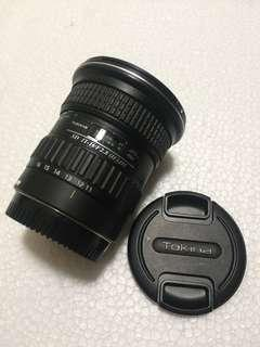 Dijual lensa 11-16mm tokina for canon