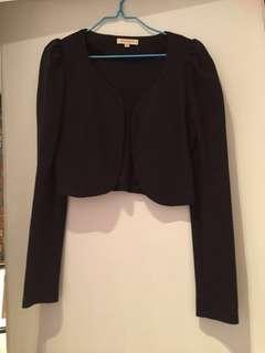 Black Short Coat 黑短外套