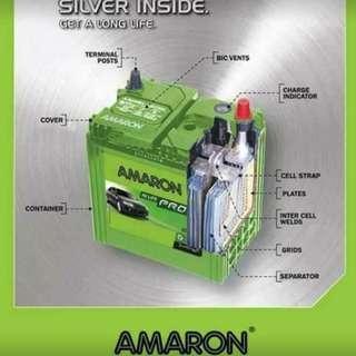 Car Battery (Amaronn Go NS40)