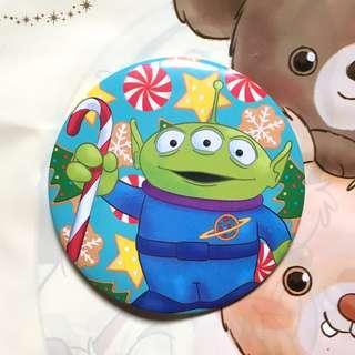 東京迪士尼 聖誕節扣針 三眼仔 LGM 2018 (Tokyo Disneyland Christmas Toy story alien 2018 - pin/button)