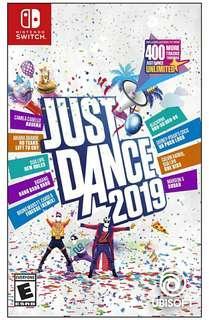Just Dance 2019 Nintendo Switch (Brand New)