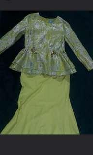 Jannah Kate Luxe Peplum Size M